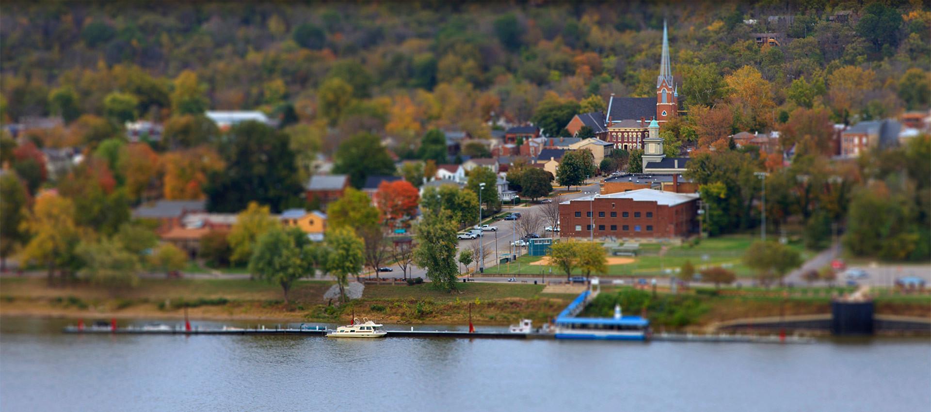 Madison Indiana Panoramic View